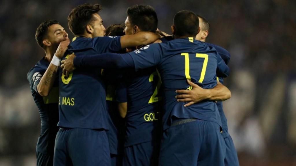 Boca derrotó a Libertad con goles de Wanchope Ábila y Mauro Zárate