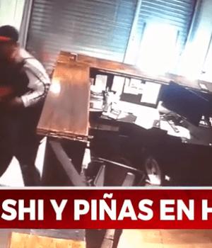 Intentó robar una casa de sushi y empleado lo molió a golpes