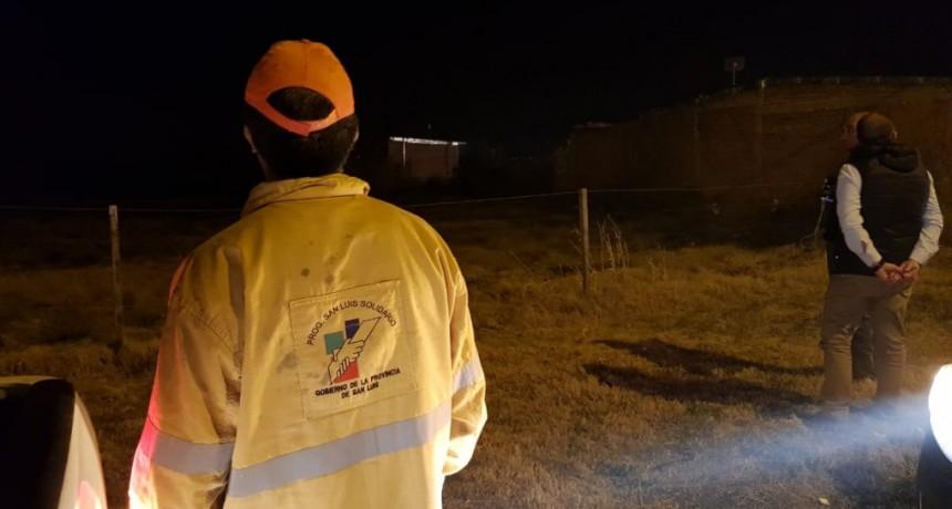 No se registraron víctimas ni hubo viviendas afectadas por los incendios