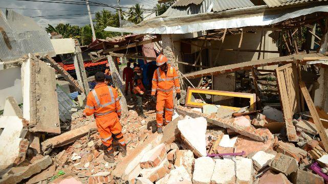 Indonesia: ya son 131 los muertos por terremoto
