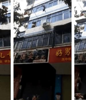 Madre desesperada tiró a sus hijos por la ventana antes de morir en incendio