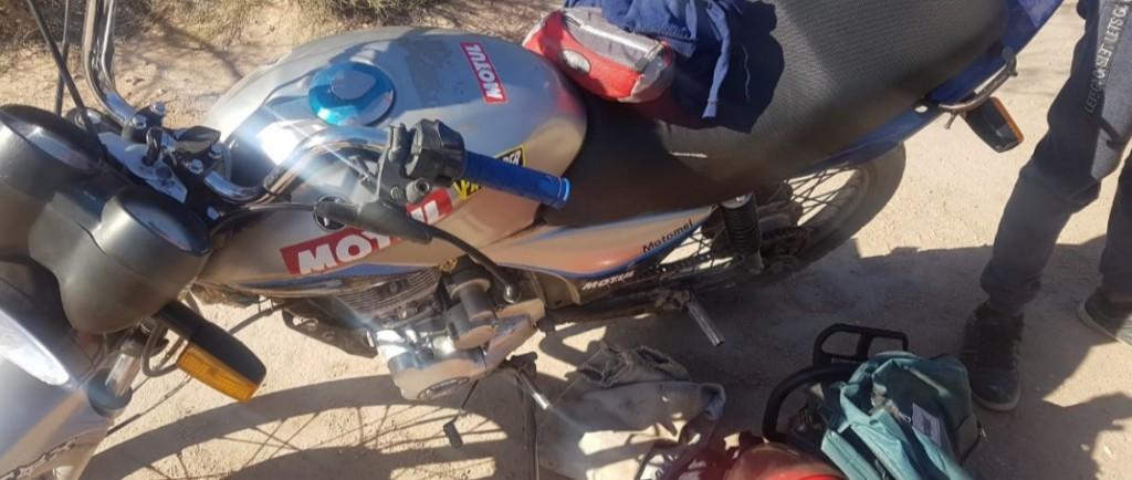 San Jerónimo: circulaban en una moto robada y fueron detenidos