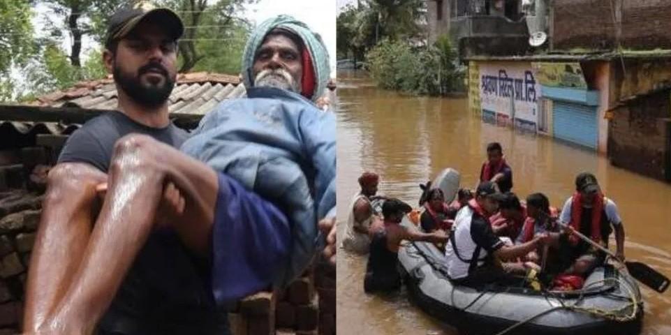 Ascienden a 156 los muertos por lluvias en la India y hay más de un millón de evacuados