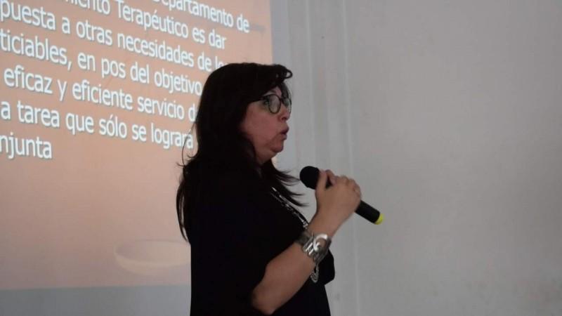 El departamento de acompañamiento terapéutico fue premiado por su labor humanitaria