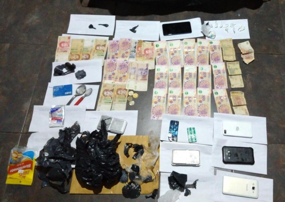 San Luis: La Policía anuló cinco centros de distribución de droga