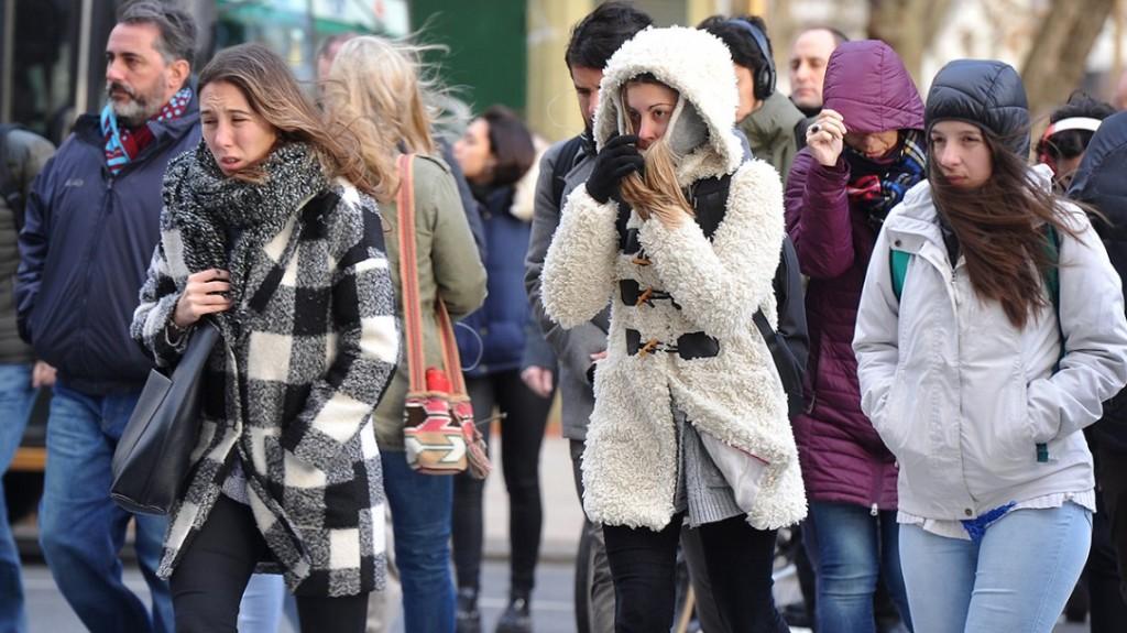 Ola polar: comienzo de semana gris y fresco