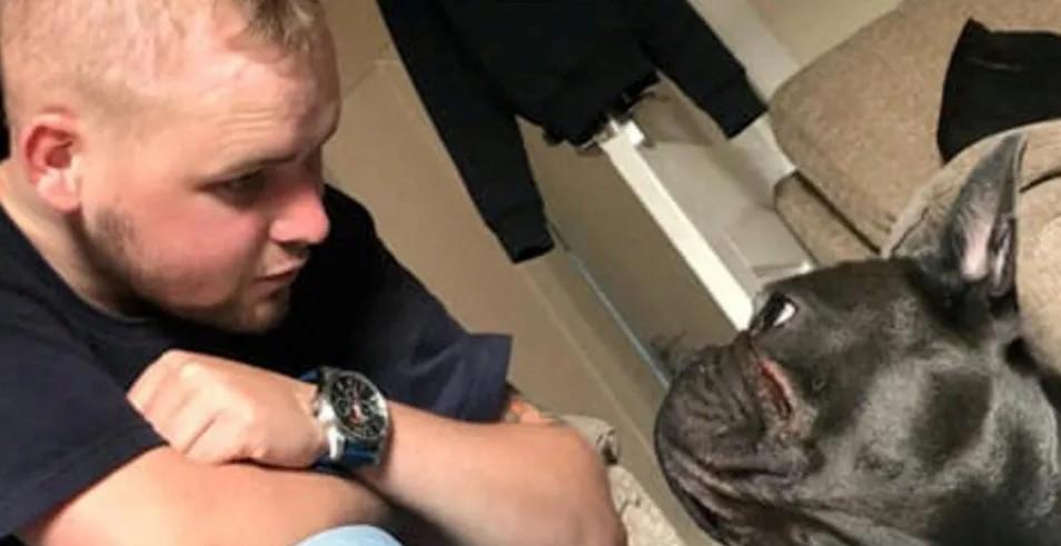 Amigo fiel: Perrito muere 15 minutos después que su joven dueño