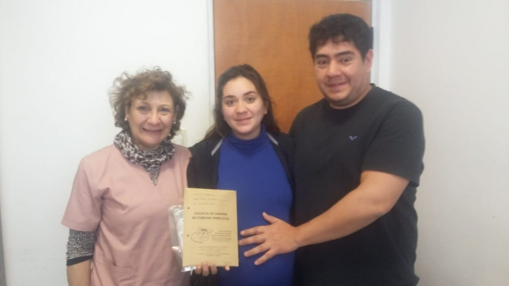 Dara Victoria es la primera embarazada que se inscribe para donación de sangre del cordón umbilical