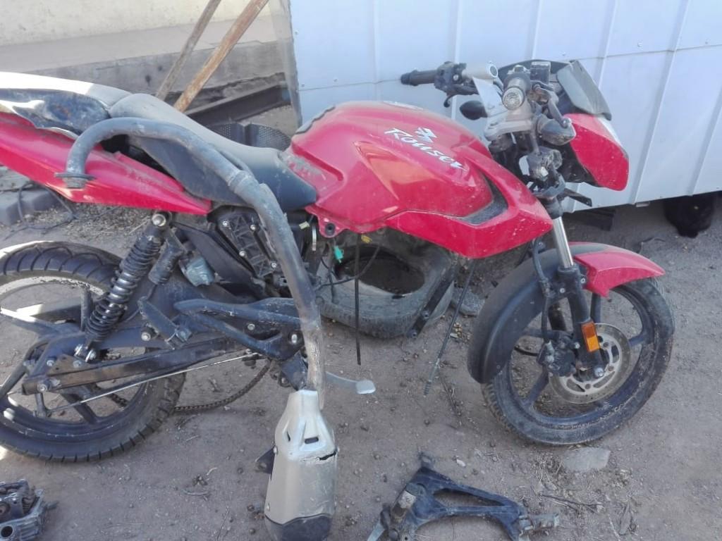 San Luis: policías recuperaron una moto sustraída