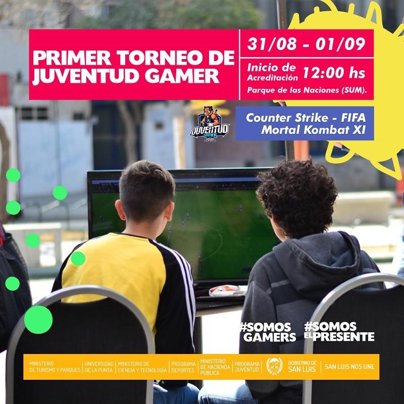 Se realizará el 1º Torneo de Juventud Gamer