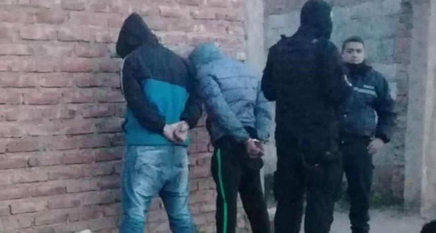 San Luis: detuvieron a dos hombres que tenían un arma de fuego