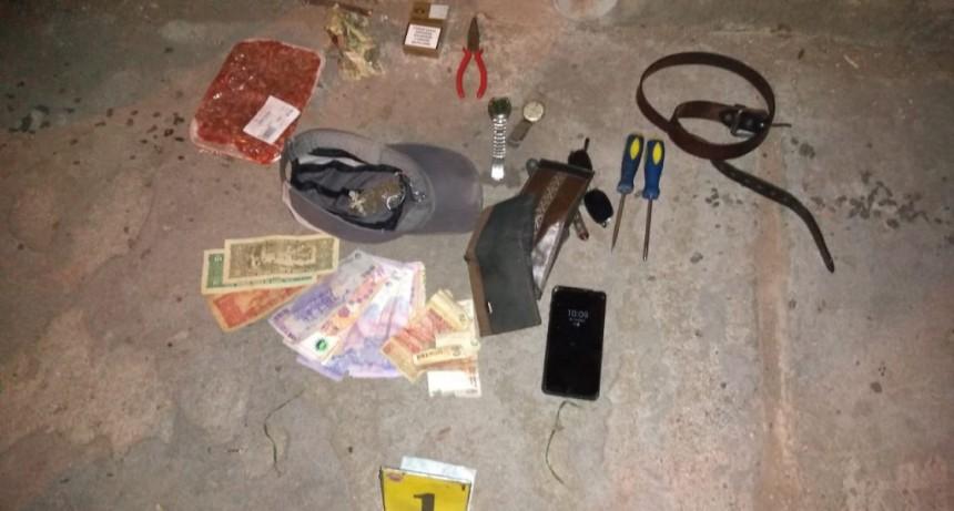 San Luis: la Policía detuvo a tres hombres y recuperó elementos robados