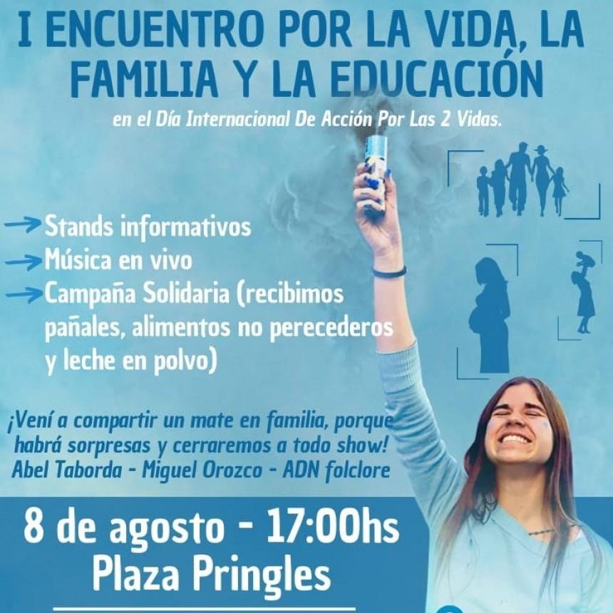 Se viene el I Encuentro por la Vida, la Familia y la Educación