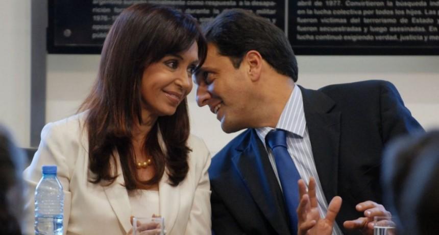 Cristina se muestra con Sergio Massa en Malvinas Argentinas