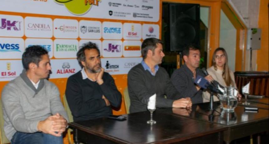 """Agustín Calleri en San Luis: """"Queremos hacer un cambio radical en el tenis argentino"""""""