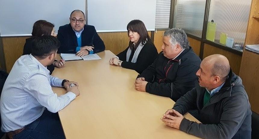Los concejales de La Punta se reunieron con autoridades de la Secretaria de Transporte