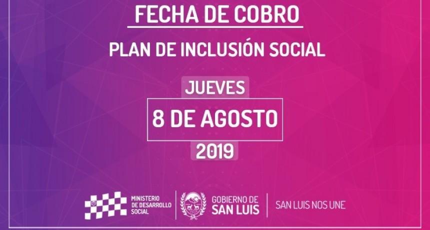 Este jueves cobrarán los trabajadores del Plan de Inclusión Social