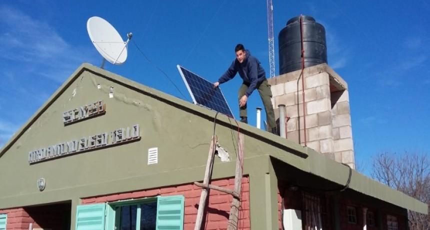 La escuela del paraje Santa Teresita, con más luz; ahora tiene energía solar