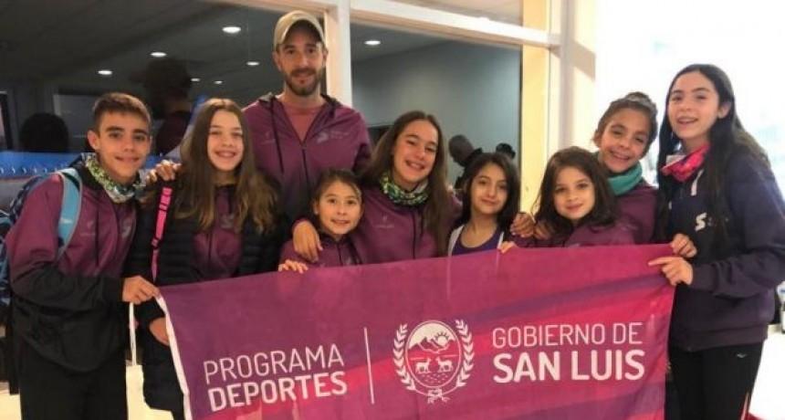 """Nadadores puntanos rumbo al Campeonato Nacional de Infantiles y Menores """"Harold Barrios"""""""