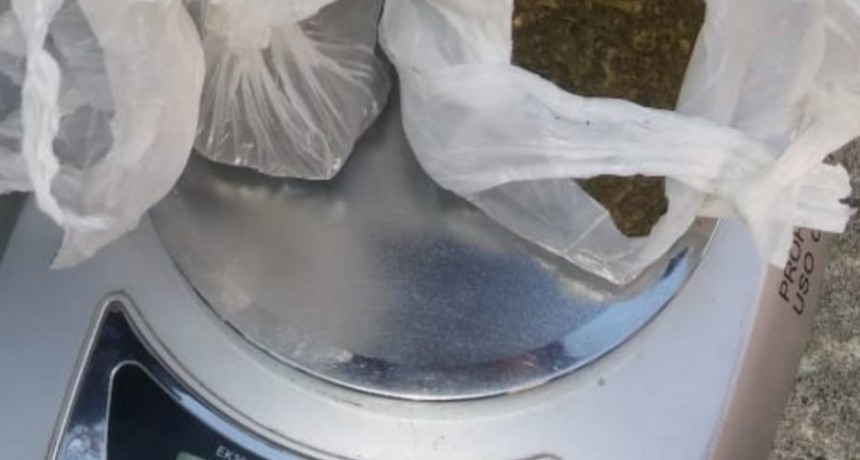 San Luis: detuvieron a un hombre con droga
