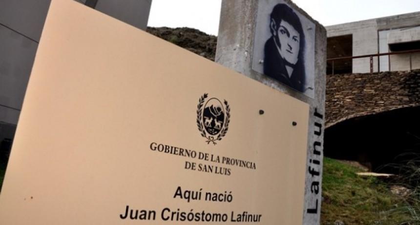 Preparan actividades para homenajear a Juan Crisóstomo Lafinur