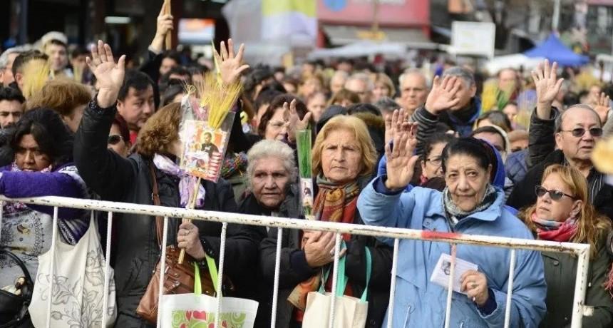 Una multitud se acercó a Liniers para venerar a San Cayetano