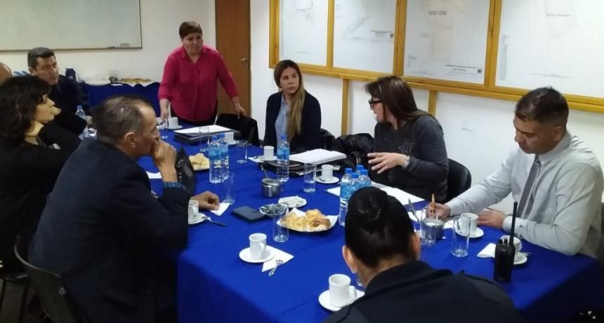 San Luis: jefes de la Plana Mayor Policial recibieron a jueces de familia