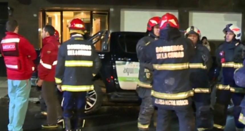 Trágico incendio en un edificio de Palermo: al menos un muerto