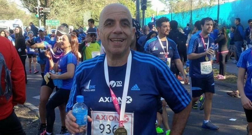 San Luis: falleció un atleta que iba corriendo por Aguada de Pueyrredón