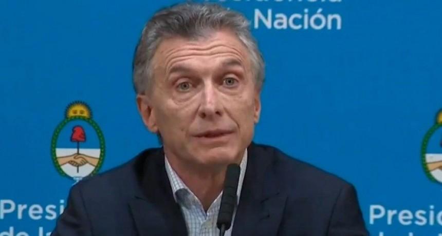 Luego de la contundente derrota, Mauricio Macri dijo que el kirchnerismo no tiene credibilidad en el mundo
