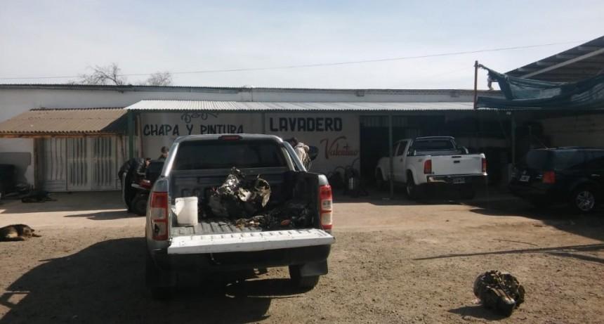San Luis: recuperaron un auto robado Villa Mercedes