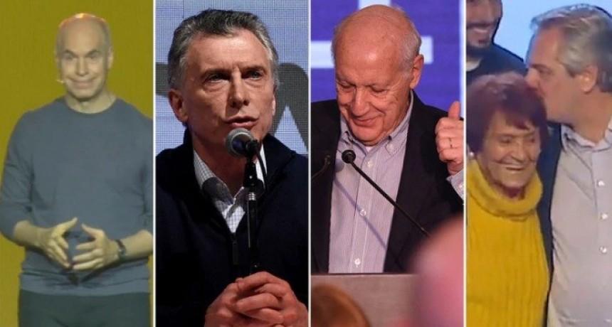 Lenguaje no verbal PASO 2019: qué dijeron con los gestos los candidatos en el búnker