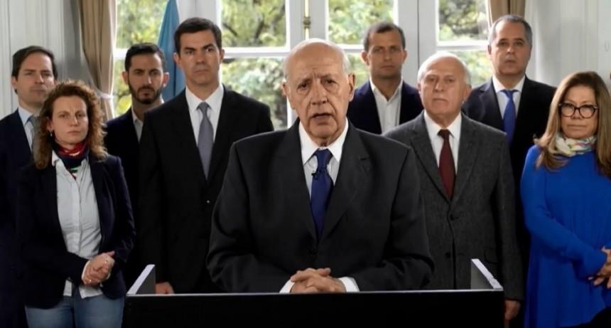Roberto Lavagna pidió de inmediato renegociar el crédito stand by con el FMI