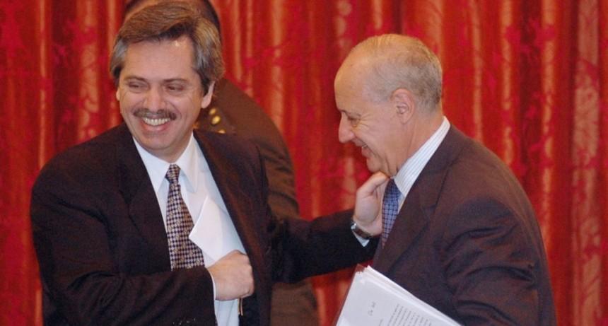 Roberto Lavagna se reunió con colaboradores de Alberto Fernández