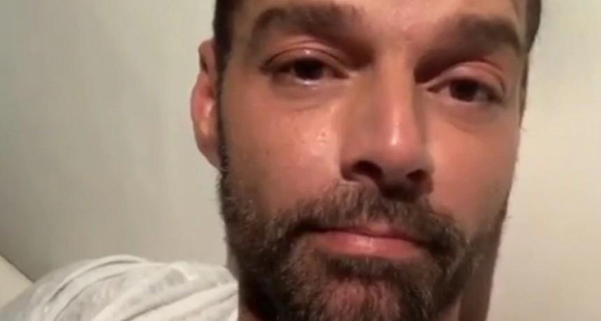 Ricky Martin preocupa a sus fans: comparte foto y revela que padece una enfermedad