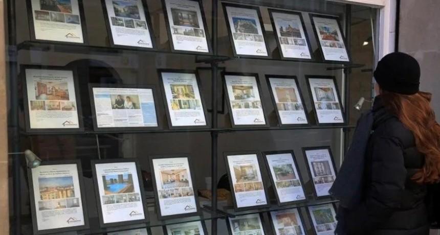 Las inmobiliarias ahora piden 50% para renovar el alquiler