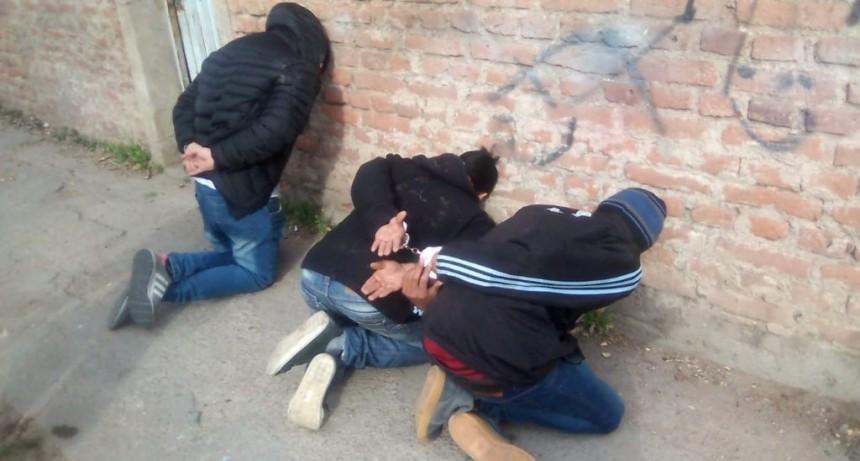 San Luis: Protagonizaban disturbios con un arma de fuego y fueron detenidos