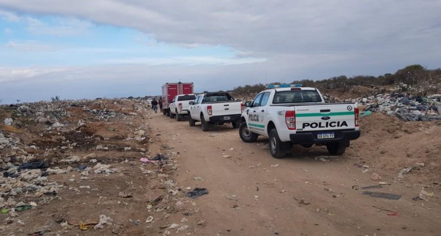 San Luis: hallan el cadáver de un hombre en el Centro de Disposición Final de Residuos