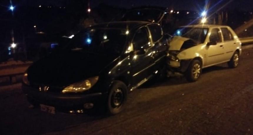 San Luis: un automovilista alcoholizado chocó en la Avenida Santos Ortiz