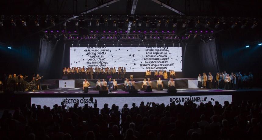 Más de 1.500 personas presenciaron la gala por el 425° Aniversario de la Fundación de San Luis