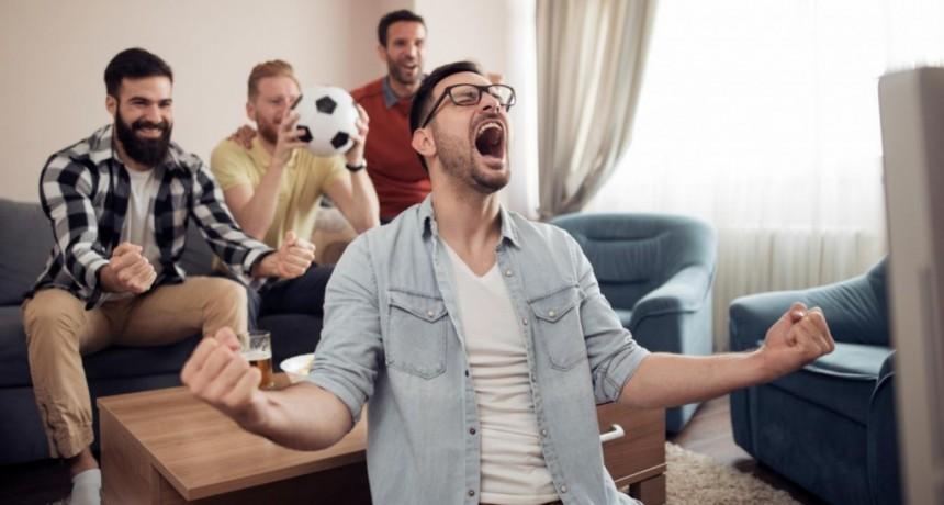 Comprobado: Ver fútbol puede ser bueno para la salud