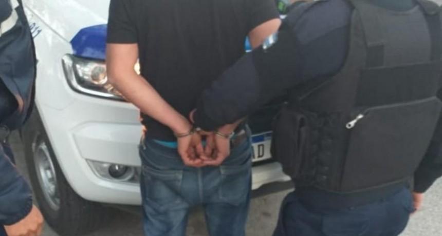 San Luis: hombre ebrio detenido por lesionar a un policía, resistirse a la autoridad y provocar disturbios