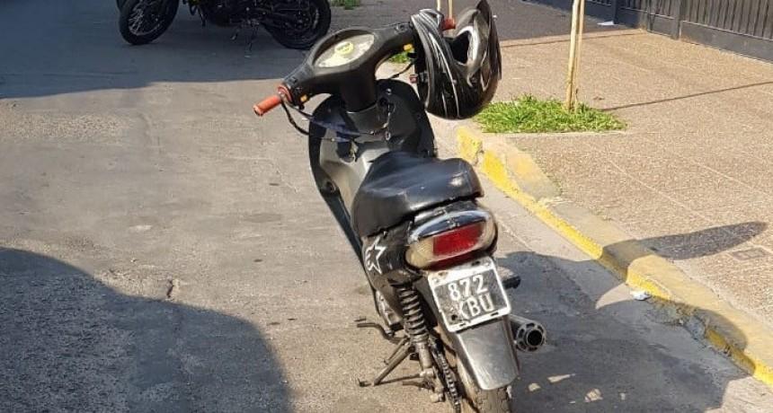 San Luis: un hombre fue aprehendido y se recuperó una motocicleta con pedido de secuestro