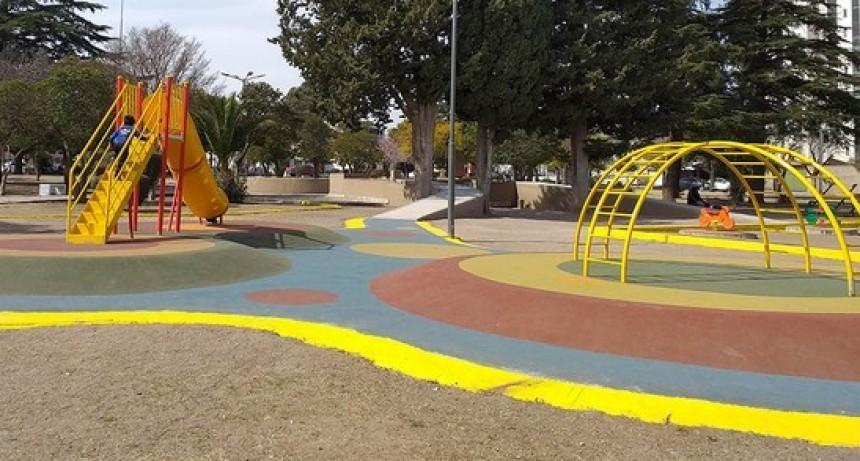 Esta tarde la Municipalidad inaugura las obras de la Plaza Ejército de los Andes