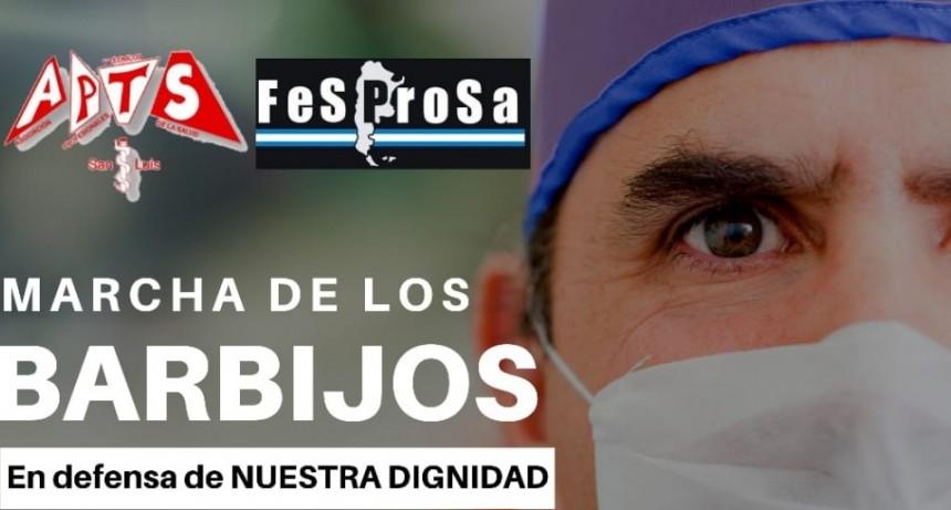 """""""Marcha de los Barbijos"""": profesionales de la salud se autoconvocan para manifestarse"""
