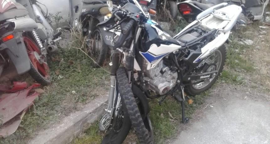 Juana Koslay: falleció un motociclista tras chocar con un auto