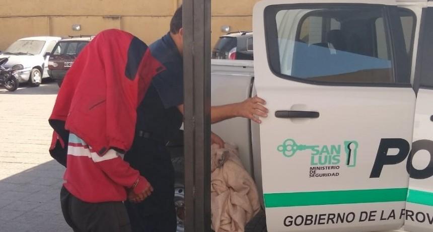 Santa Rosa del Conlara: cárcel para un hombre por violencia de género