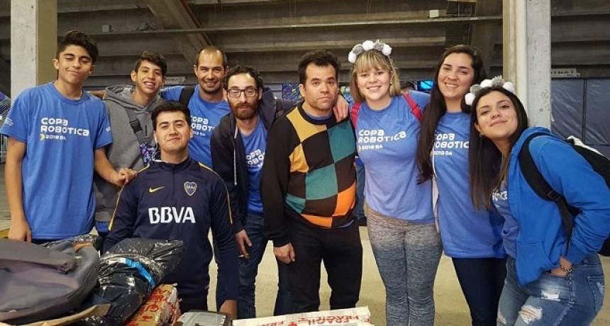 Comenzó el sueño para jóvenes puntanos en la Copa Robótica 2019