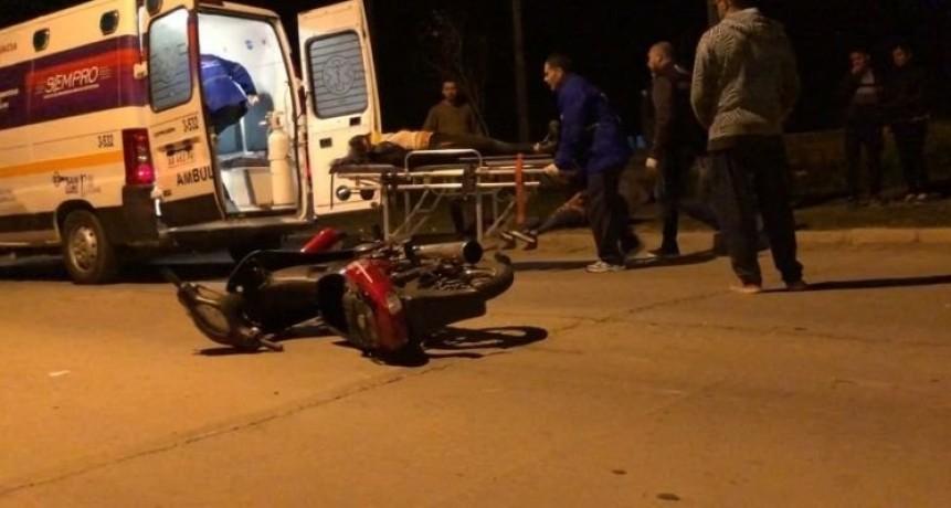 Accidente fatal: falleció una motociclista que chocó contra un auto en Villa Mercedes