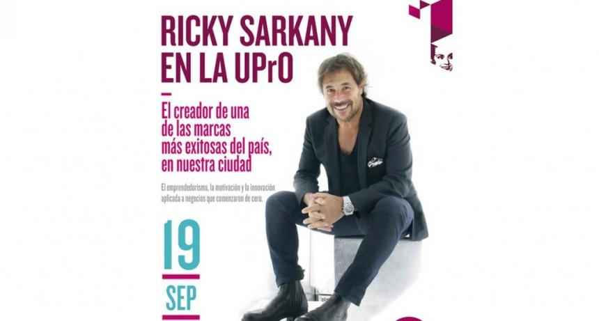 Charlas Magistrales: Ricky Sarkany disertará en la UPrO